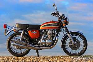 Honda CB750 K3 for sale in UK, low mileage and in superb un-restored condition from Proper Bikes