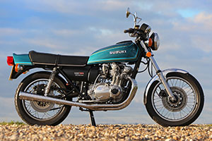 Suzuki GS740 1977 for sale best in UK, mint condition. Proper Bikes