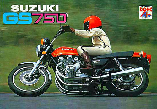 Suzuki GS750 for sale in best condition possible from Proper Bikes UK