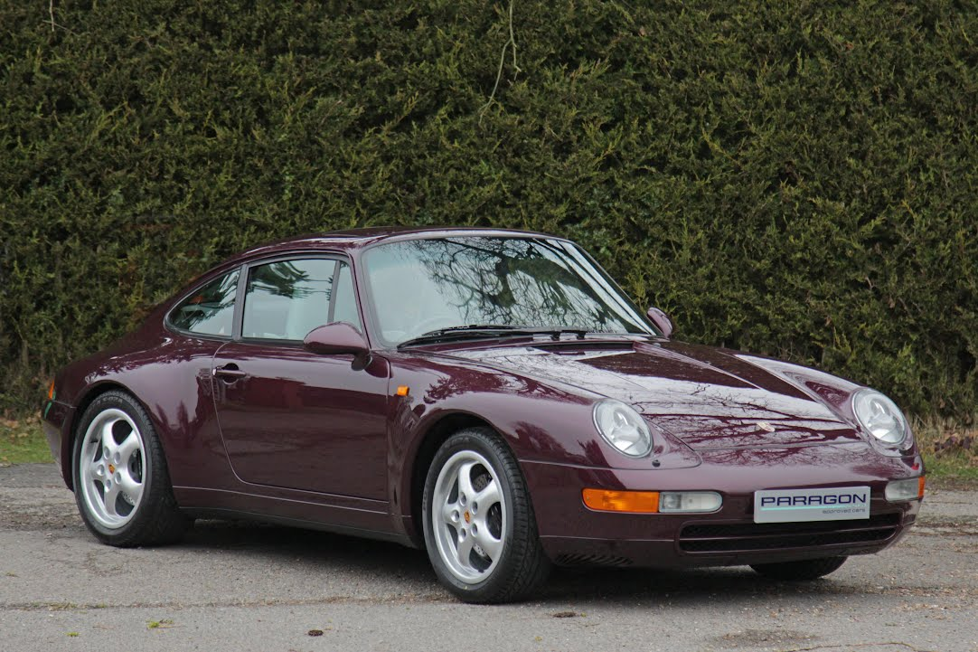 Used Porsche for Sale from Paragon Porsche in East Sus, the ...