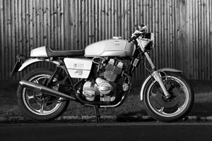 Laverda Jota 180 restored to the very highest standard. Certified by Richard Slater as one of his genuine UK bikes.