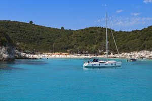 Our recommended areas for early and late season sailing holidays
