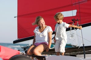 Best sailing areas for families with teenagers