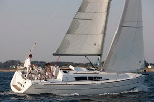 Sun Odyssey 33i for charter in Croatia, Greece and Turkey