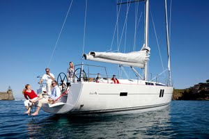 Hanse 495 for yacht charter