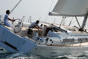 Dufour 445 for yacht charter