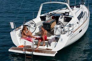 Oceanis 41 for yacht charter