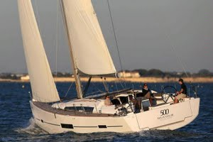 Dufour 500 Grand Large yacht for charter