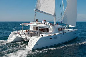 Lagoon 450 yacht for charter