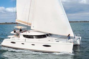 Salina 48 yacht for charter