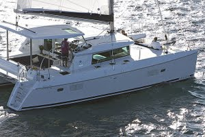 Lagoon 420 yacht for charter