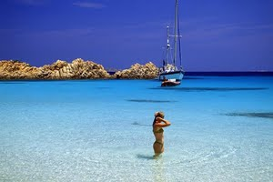 Beautiful yacht charters around Sardinia