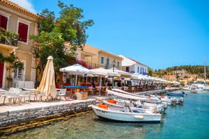 Yacht charters in the Ionian Islands
