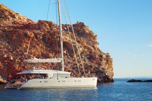 Luxury yacht charters in Italy