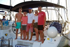 Sailing witha skipper FAQs
