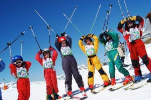 Visit Alpe d'Huez for excellent beginner skiing holidays