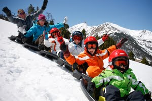 Visit Lech in Austria for a fantastic family ski and snowboard holiday