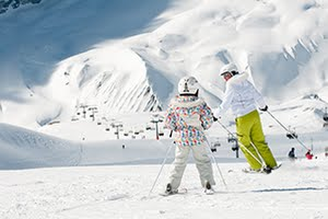 Visit La Tania in France for fantastic family ski and snowboard holidays