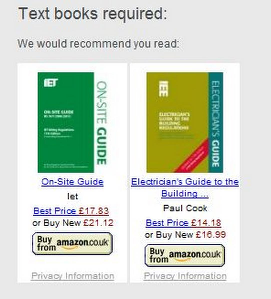 All you have to do is link the links and buy the book. We don't mind if you  want them delivered here or you'd prefer to have them delivered to your  home ...