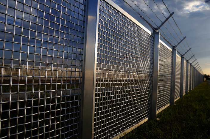 Stainless Steel For The Security Fencing Sector