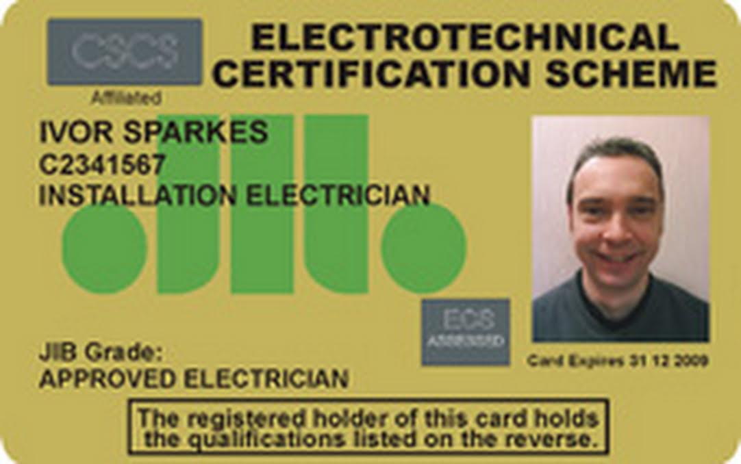 From Cscs To Ecs Which Cards Do Electricians Need And Why
