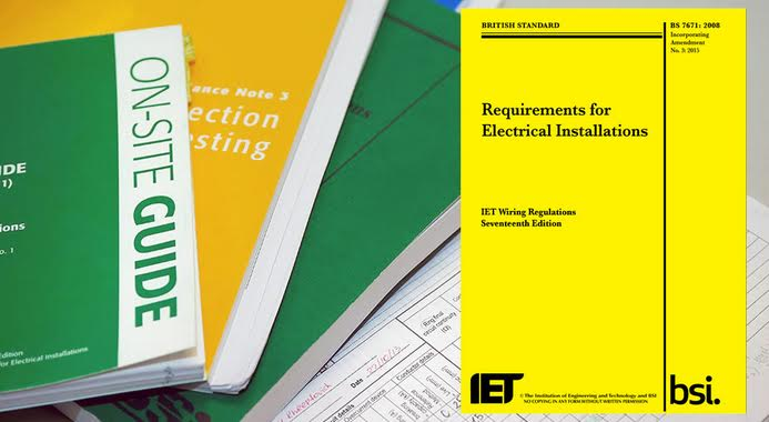 what is the 17th edition and why is it important rh tradeskills4u co uk Basic Electrical Wiring Diagrams Electrical Wiring Symbols