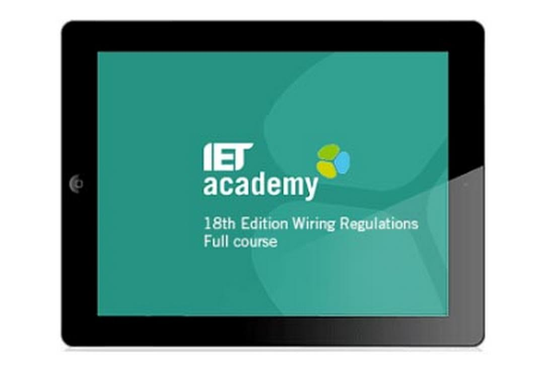 Online 18th Edition Course Full Cg 2382 18 Iet Wiring Regulations Book The 20 Hours