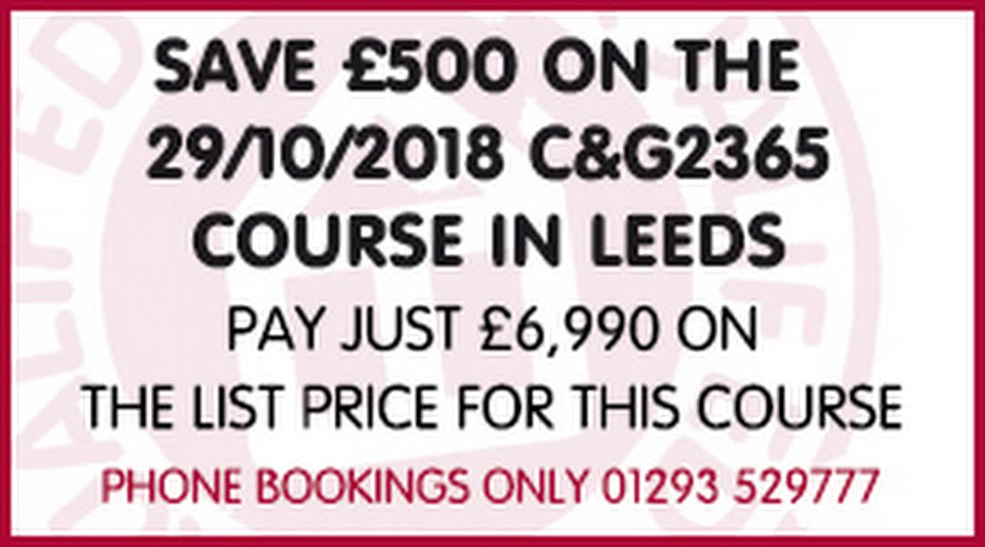City Guilds 2365 Course Level 2 3 Diploma